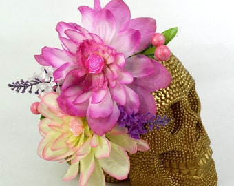 PARADISE -  Double Flower Hair Pretty - Clip or Comb