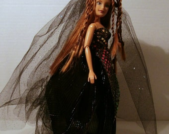 Dark Rainbow Sorceress display doll