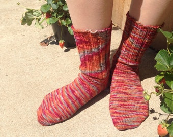 Autumn Colors Tonal Wool Socks