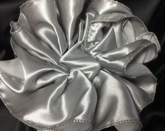 Large Steel City Gray III Hair Bow, Clip, or Claw