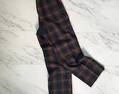 Vintage plaid wool Pendleton pants / wool trousers 1970s Pendleton