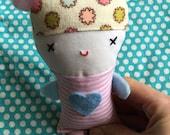 Valentine Doll  - Small Doll  - Soft Toy  - Cloth Doll  - Cloth Toy - Plush - Valentine Plush - Heart