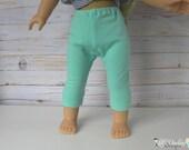 "Doll Capri 15"" doll capris 18"" doll capris Doll Pants Baby Doll Pants Doll Tights Baby Doll Leggings Baby Doll Clothes Doll Leggings"