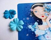 Postcard Nuit bleu