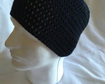 Hand made crocheted beanie