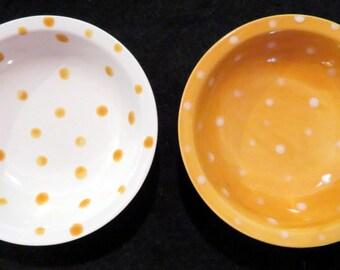 Mini Sauce Dishes- Set of 2 (Tiger Tail)