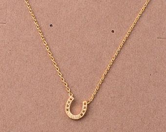 Horseshoe Necklace*