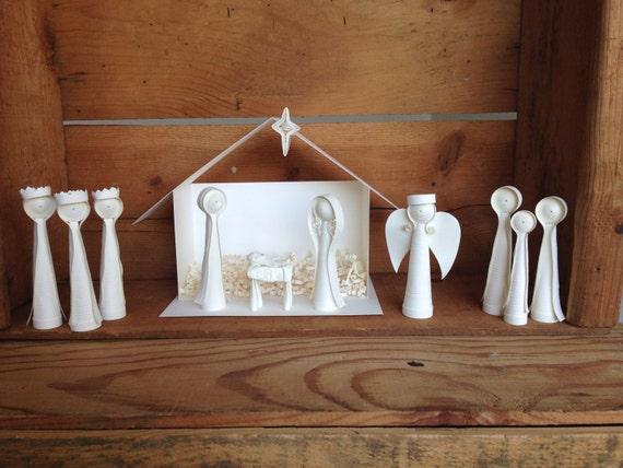 Paper Quilled Nativity Scene - Starter Set