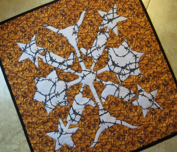 Hawaiian Quilting, Texas Style Quilt Pattern from Quilts by Elena