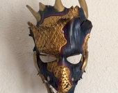 Dragon Shaman leather mask