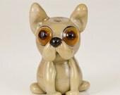 French Bulldog Lampwork Dog Bead