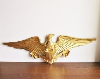 Vintage eagle wall hanging