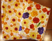 Fabric Destash– Sunny Day by RJR Fabrics - Over 1 Yard, 100% Cotton, Watercolor Floral Fabric