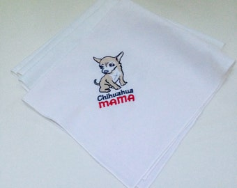 Chihuahua Napkins 4 in a set