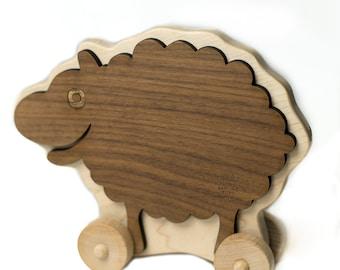 Sheep Push Toy
