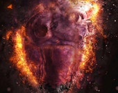 Heart's On Fire - 11x14 Fiery Romantic Fantasy Fine Art Print