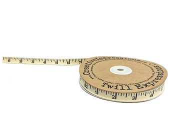 Antique Ruler Twill - Creative Impressions - 5 yds