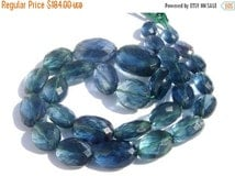 55% OFF SALE 16 Inches - Genuine AAA Teal Green Fluorite Checker Cut Faceted Oval Nuggets/Tumbles Size 11x8 - 21x16mm Approx Finest Quality