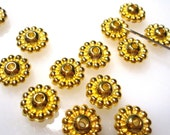 50% Off 50 pcs of Antique Gold 5x10mm Rondelle, 1mm Hole, Spacer Beads MB1017 A16