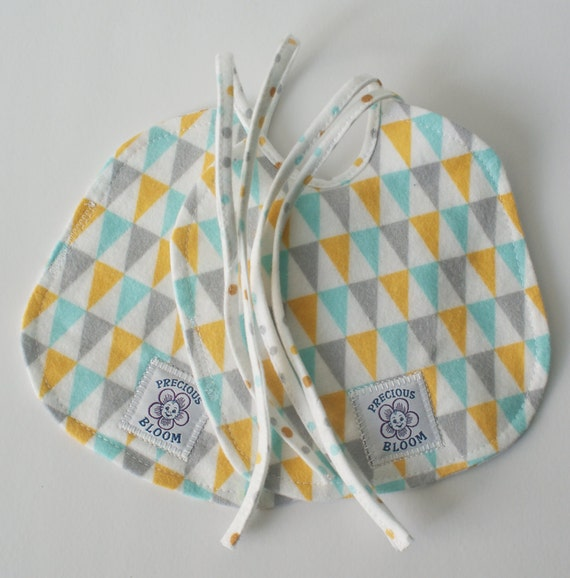 So Soft Organic Reversible Bibs - Small