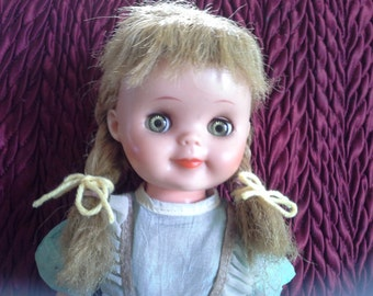 "14"" Horsman Doll Honey Blonde"
