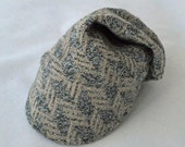 Soft Feathers Baby Bike Cap from Upcycled Soft Cotton Knit for Bike Baby Gift