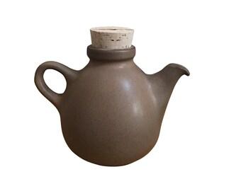 Heath Pottery Teapot, Vintage Mid Century Modern Edith Heath Ceramic Tea Pot