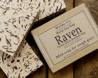 Raven Handmade Men's Soap