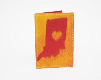 Indiana Love Refillable Composition Notebook by Binding Bee