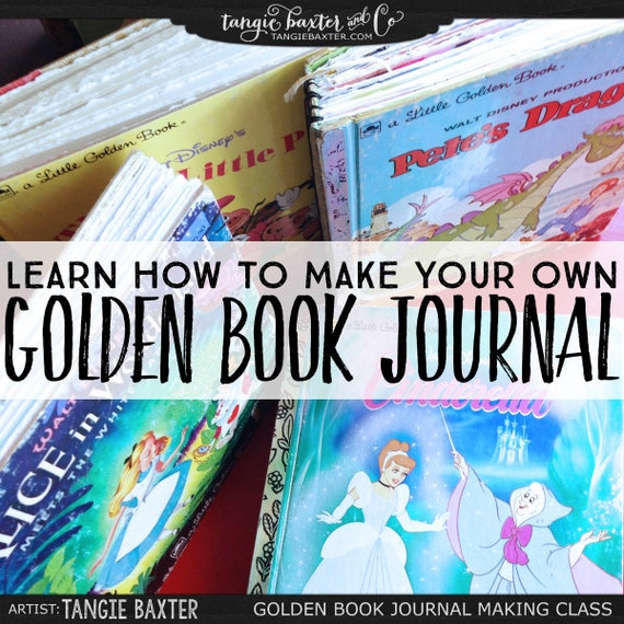 Golden Book Journal Making Class How To Make Your By