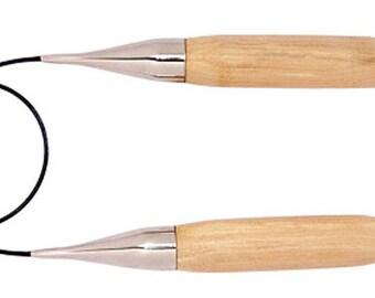 "Knitter's Pride Basix Circular Knitting Needle 32"", size US 50"