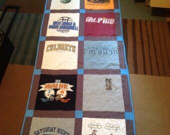 9 tshirt Quilt