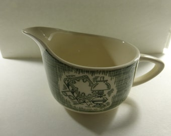 Vintage Creamer The Old Curiosity Shop Oven Proof Dinnerware NOS
