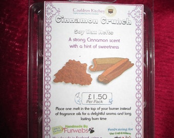 Cinnamon Crunch Scented Soy Wax Melts Pack