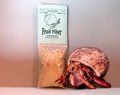 Hermit Crab Food Fruit Fiber All-natural pet food by Crabotanicals