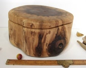 HOLDING for Christina DeGrande, Black Walnut Tree Branch Wooden Box, valet box, wedding gift, cremation urn, wooden jewelry box