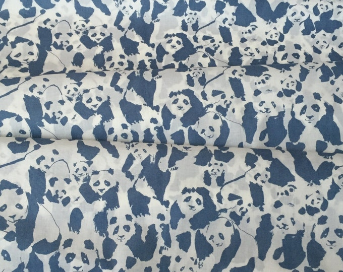 Pandalicious - Pandalings Pod in Night by Katarina Roccella for Art Gallery Fabrics - Voile Fabric