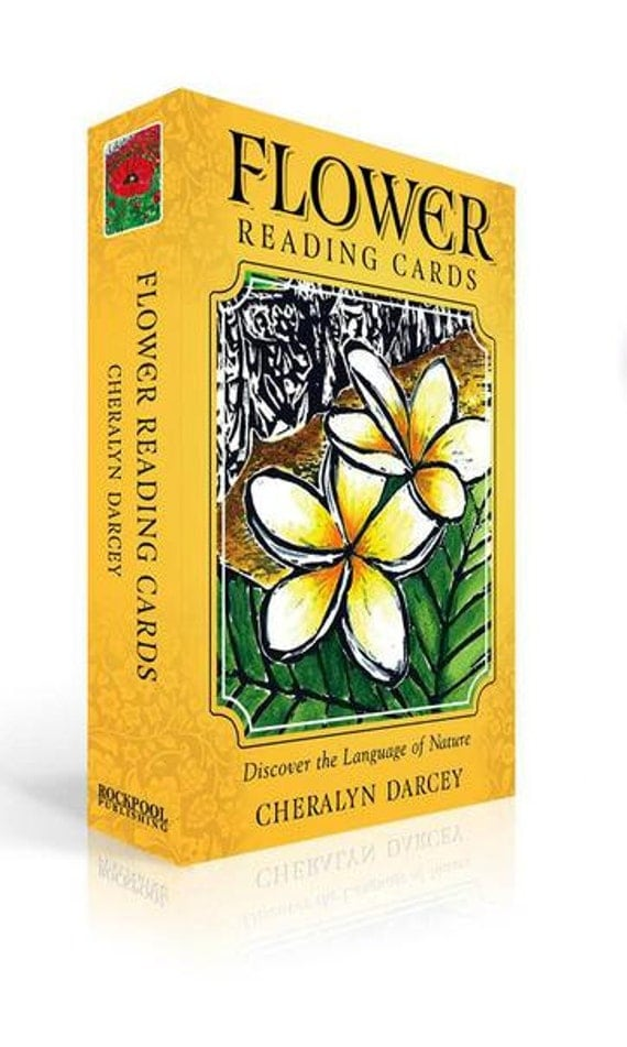 Flower Reading Cards ~ personally signed