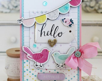 Hello...Handmade Card
