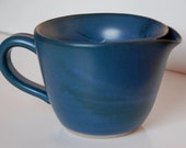 Shaving Scuttle in Teal Blue for Traditional Wet Shave