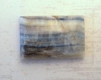 Lapis Lace Onyx Rectangle Cabochon