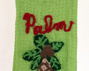 Tybee Palm Kitchen Towel