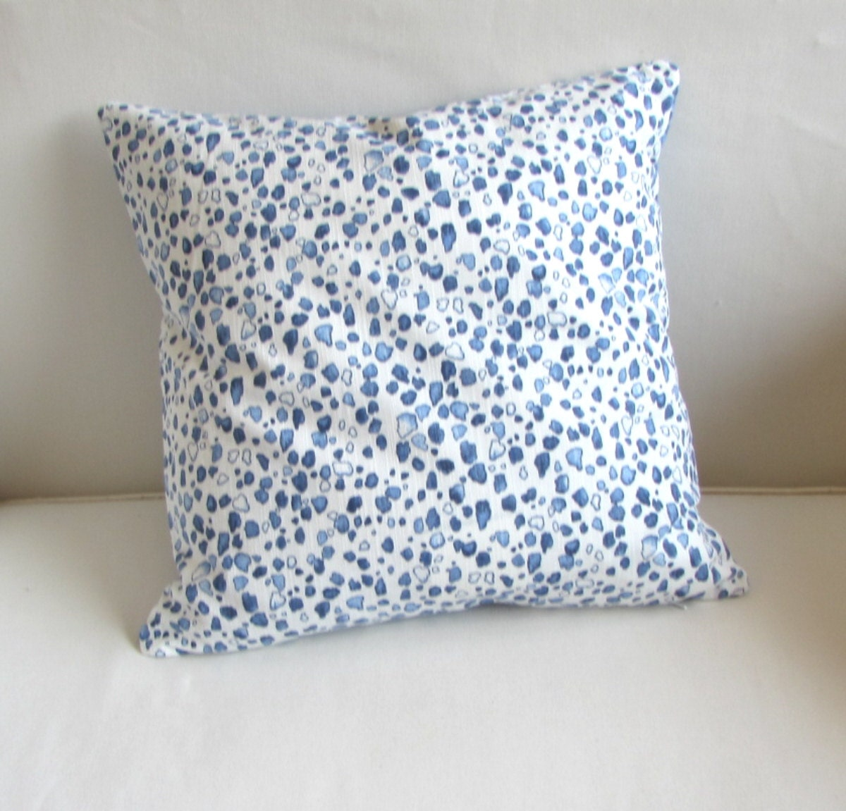 Wedgewood Blue Throw Pillows : CALICO WEDGEWOOD decorative Pillow cover blue 18x18 20x20