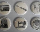 Sewing Flair Buttons-You CHOOSE STYLE and COLOR