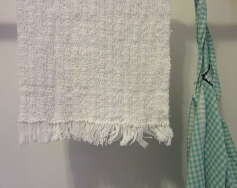 Snowy Day White Hand Towels (set of 4)