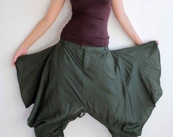 Hanna funky Skirt over pants...No.15 mix silk( GP-355)