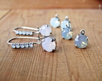 Three's A Charm III - Interchangeable Earrings.