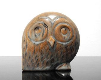 Owl figurine / Ceramic Owl / Vintage