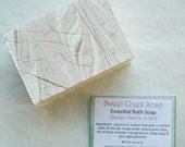 Garden Swirls in Silk Conditioning Bath Soap