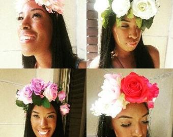 Wedding Flower Halo